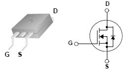 FQB33N10, 100V N-Channel MOSFET